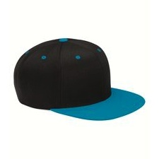 110f Flexfit - Wool Blend Flat Bill Snapback Cap