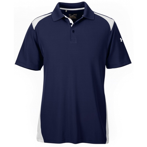 1283702 Under Armour Men's Team Colorblock Polo