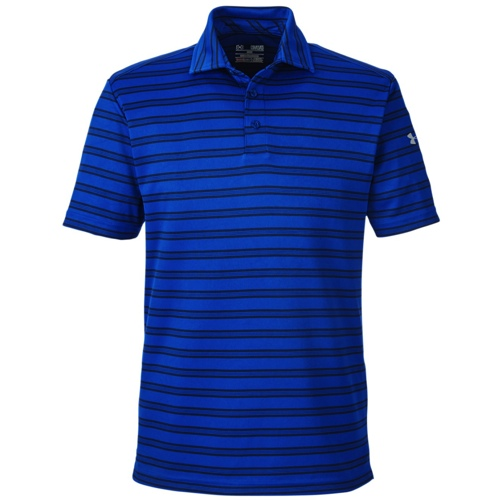 Embroidered 1283704 Under Armour Men 39 S Tech Stripe Polo