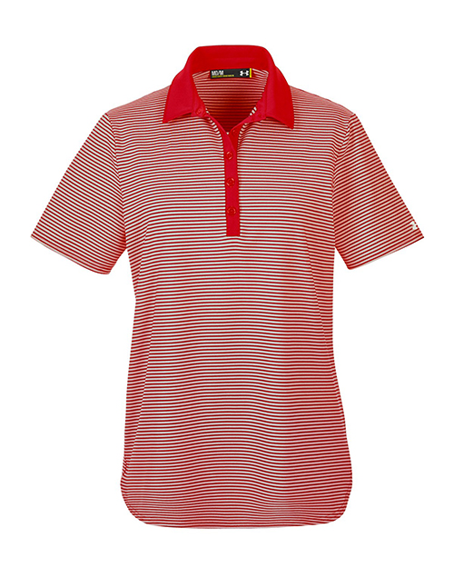 Embroidered 1283944 under armour ladies 39 clubhouse polo for Under armour embroidered polo shirts