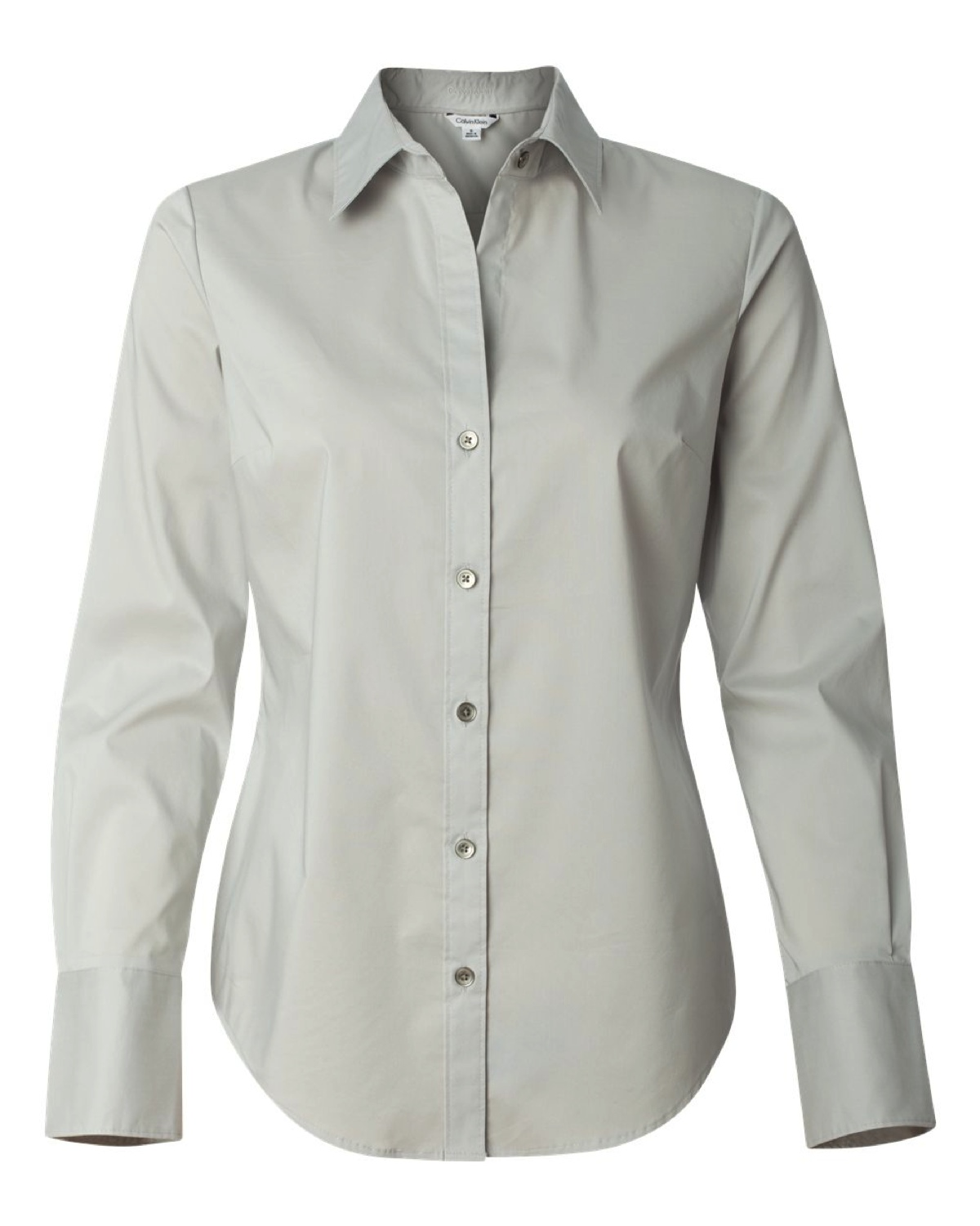 13CK018 Calvin Klein - Ladies' Cotton Stretch Shirt