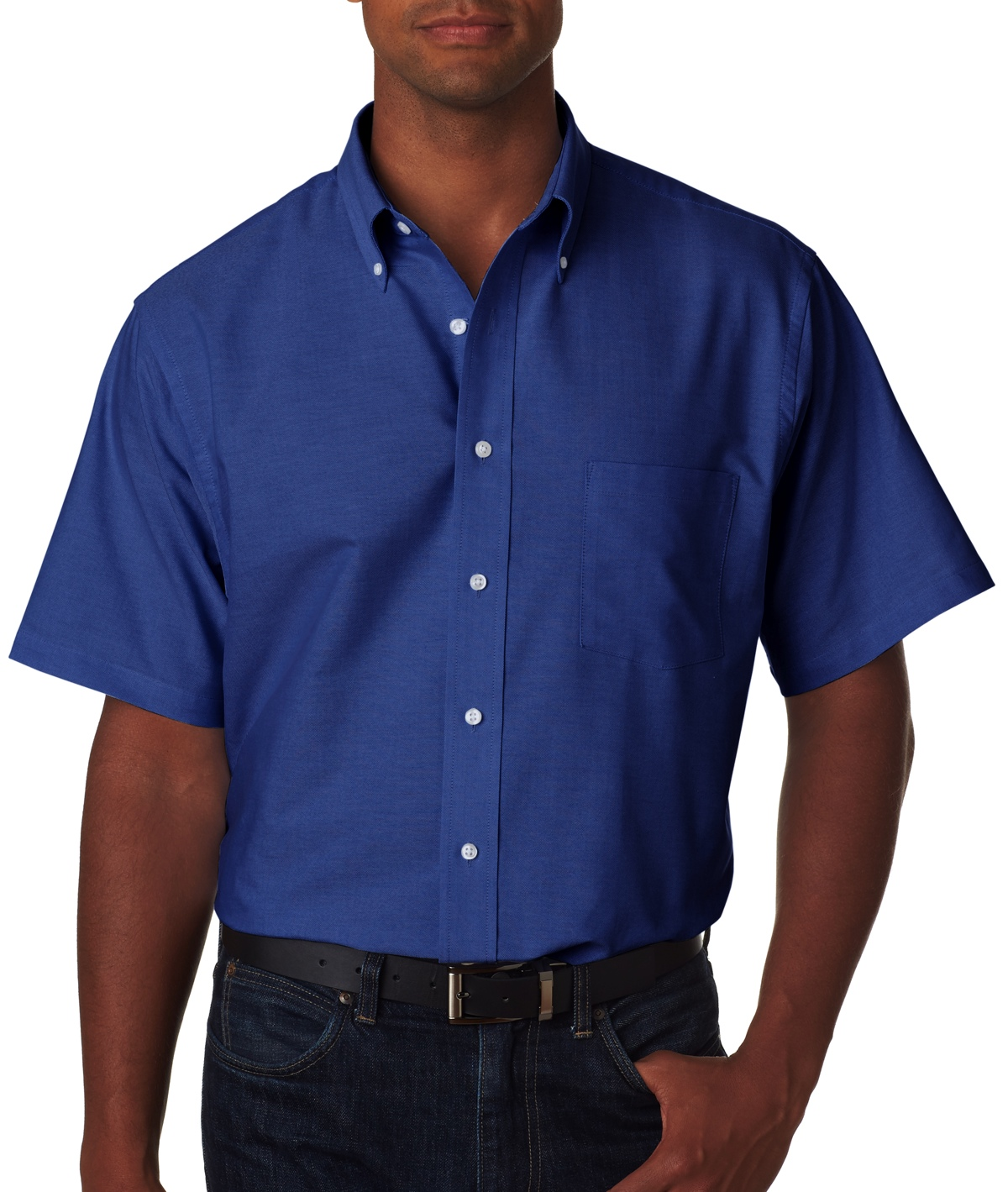 13V0042 Van Heusen Short Sleeve Oxford Shirt