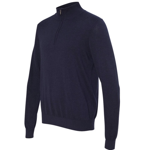 13VS005 Van Heusen Quarter-Zip Sweater