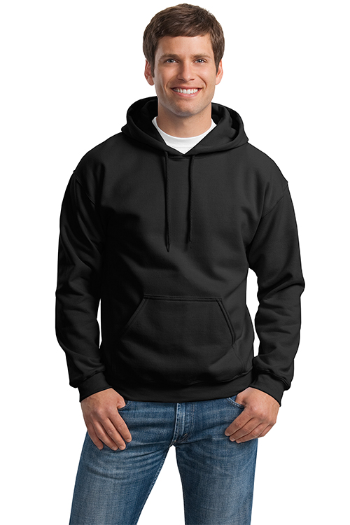 18500 Gildan hooded pullover sweatshirt