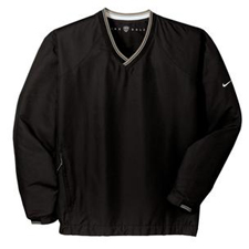 234180 Nike Golf V-Neck Wind Shirt