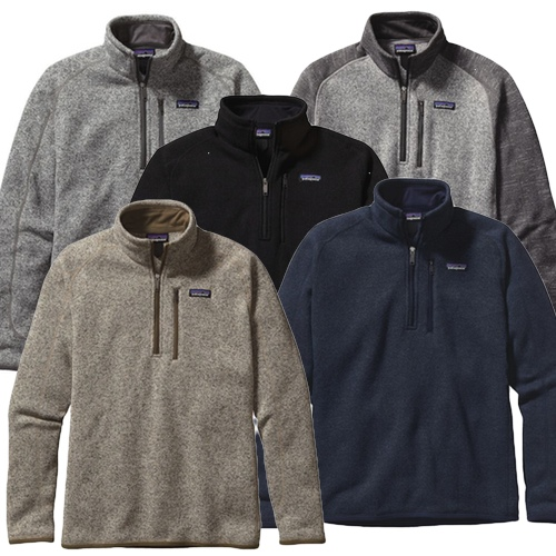 Embroidered 25522 Patagonia Mens Better Sweater 14 Zip