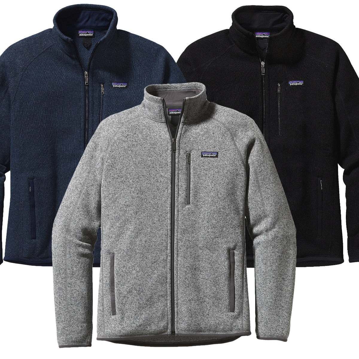 Embroidered Patagonia Men39s Better Sweater Jacket