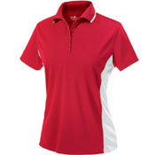 2810 Women's Color Blocked Wicking Polo