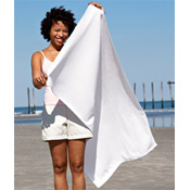 310 Towels Plus by Anvil Hemmed Promotional Beach Towel