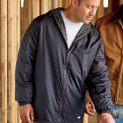 33237 Dickies Fleece-Lined Hooded Jacket