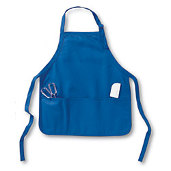 APR53 Big Accessories Two-Pocket 30 Inch Apron