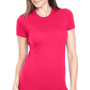 4990 Bayside Ladies' Fashion Ring-Spun Jersey Tee