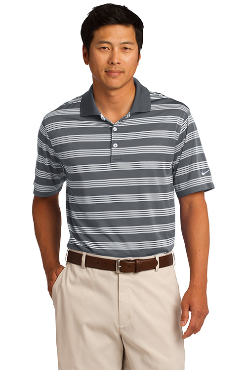 578677 Nike Golf Dri-FIT Tech Stripe Polo