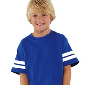 6137 LAT Youth Fine Jersey Football Tee