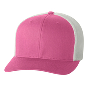 6511 Flexfit 6 Panel Twill Front/Mesh Back Trucker Cap