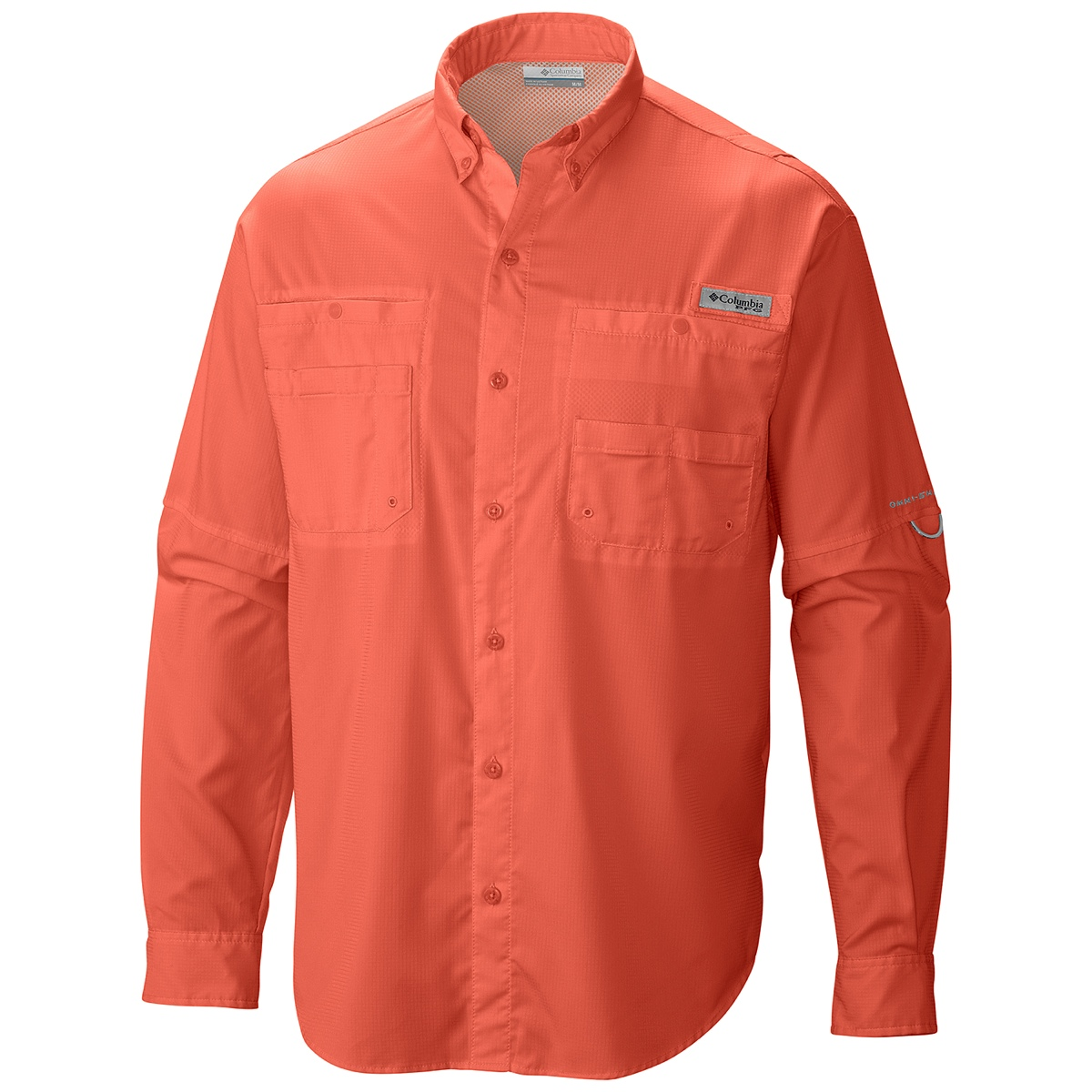 Embroidered 7253 columbia men 39 s tamiami ii long sleeve shirt for Embroidered columbia fishing shirts
