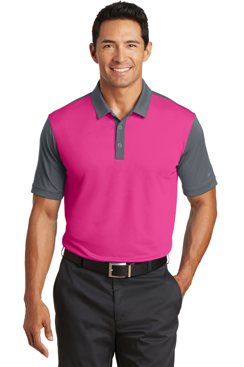 746101 Nike Golf Dri-FIT Colorblock Icon Polo