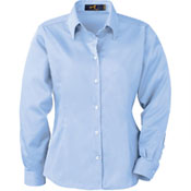 77009 Ash City Ladies Easy Care Long Sleeve Twill Shirt