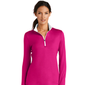 779796 Nike Golf Ladies Dri-FIT Stretch 1/2-Zip Cover-UP