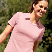 8407 Ultra Club Cool-N-Dry Ladies Sport Pullover sport shirt