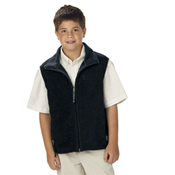 8503 Youth Ridgeline Fleece Vest