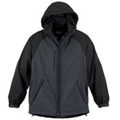 88125 NORTH END MEN'S PERFORMANCE 3-IN-1 SEAM SEALED MID-LENGTH JACKET
