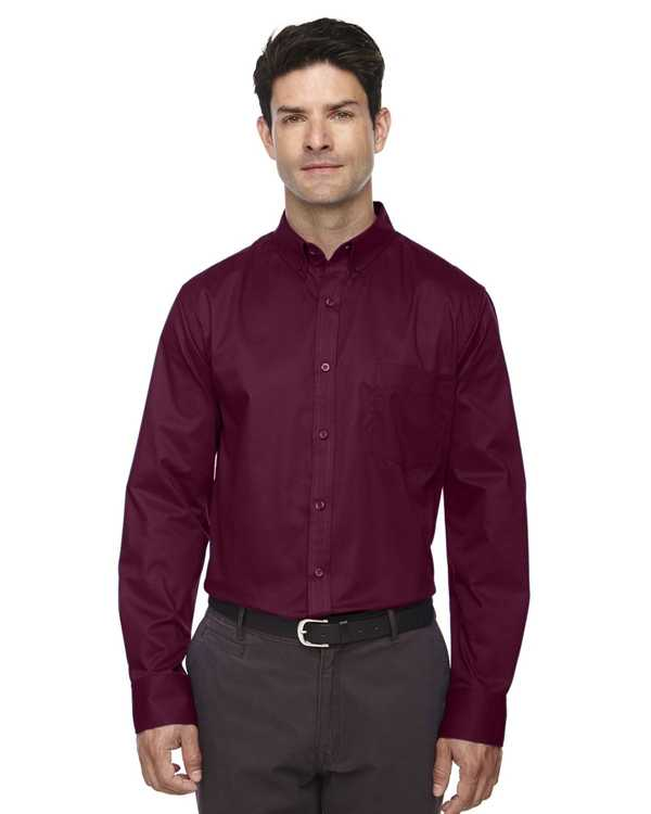 88193 Ash City Core 365 Men's Operate Long-Sleeve Twill Shirt