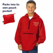 8904 Charles River Youth Pack-N-Go Pullover