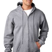 900 Bayside Made in the USA Adult Hooded Full Zip Sweatshirt