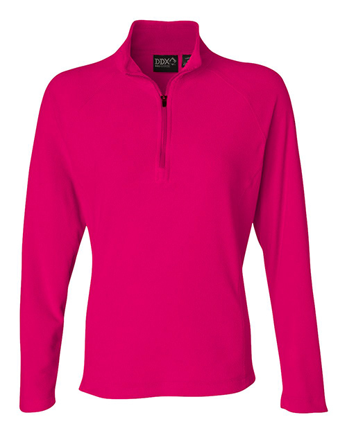 9397 DRI DUCK - Nano-Fleece Women's Fusion Quarter-Zip Pullover