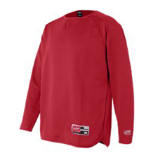 9705 Rawlings  Long Sleeve Fleece Pullover