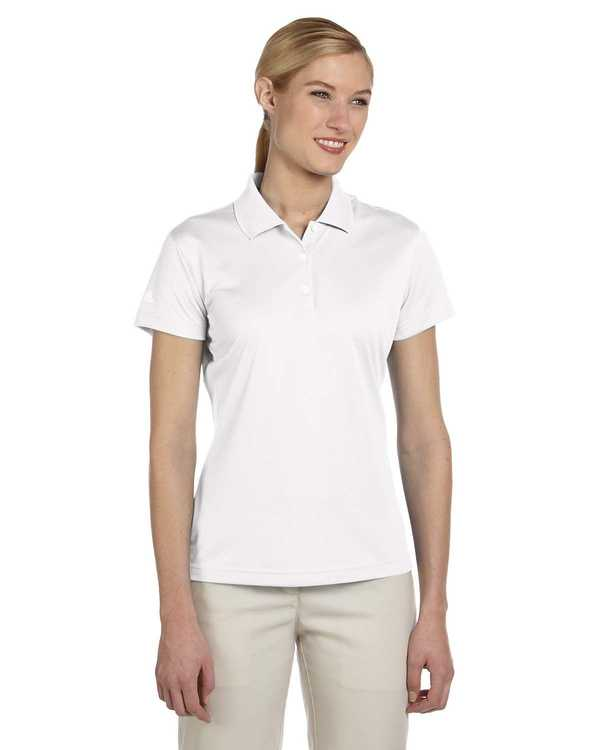 A131 adidas Golf Ladies' climalite® Basic Short-Sleeve Polo