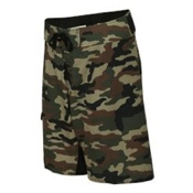 B9371 Burnside - Camo-Diamond Dobby Board Shorts
