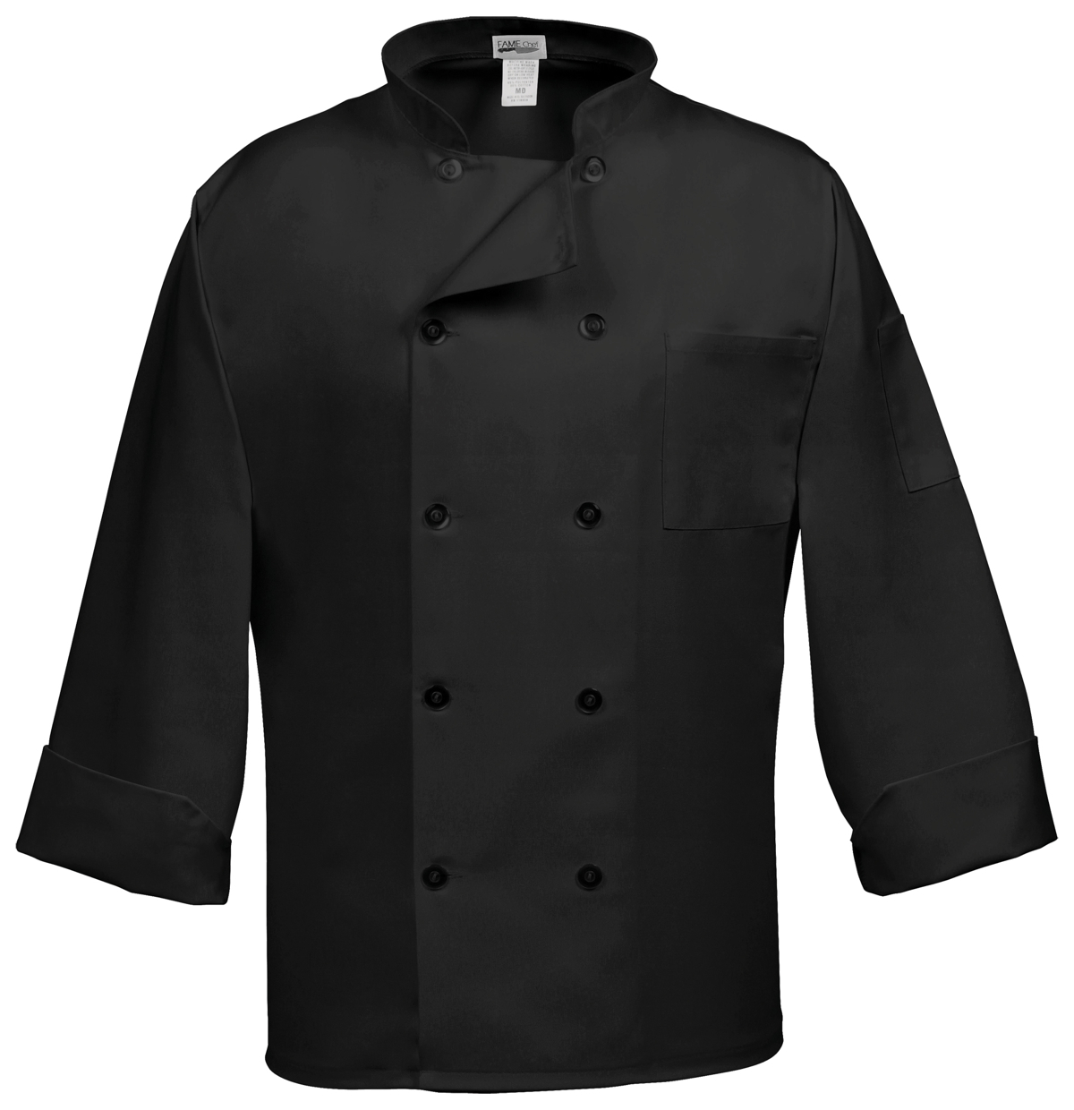 C10P Chef Coat with Pearl Buttons