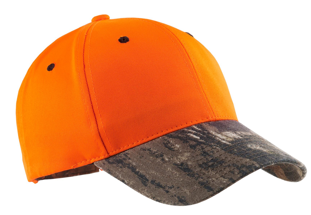 C804 Port Authority® Safety Cap with Camo Brim
