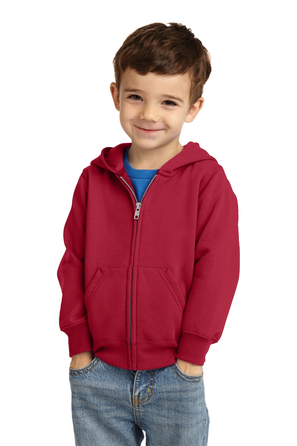 CAR78TZH Precious Cargo Toddler Full-Zip Hooded Sweatshirt