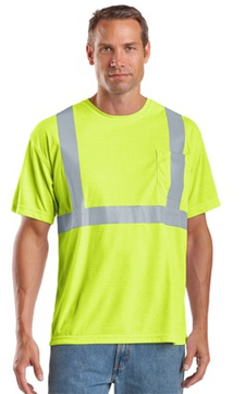 CS401 CornerStone ANSI Class 2 Safety T-Shirt