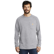 CT100393 Carhartt Force ® Cotton Delmont Long Sleeve T-Shirt