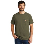 CT100410 Carhartt Force Cotton Delmont Short Sleeve T-Shirt