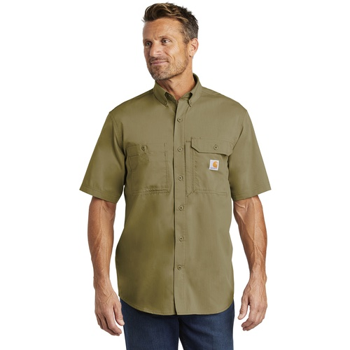 CT102417 Carhartt Force ® Ridgefield Solid Short Sleeve Shirt