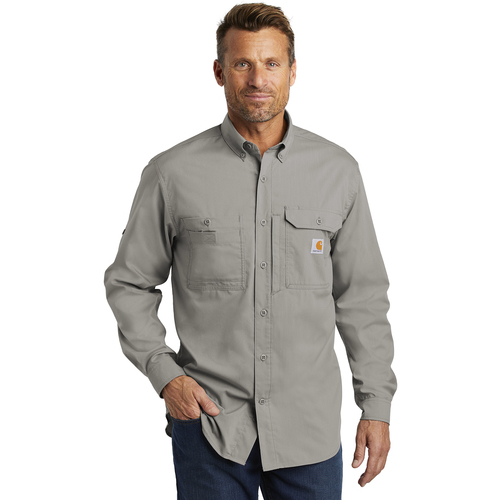 CT102418 Carhartt Force ® Ridgefield Solid Long Sleeve Shirt