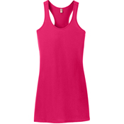 DM423 District Made® Ladies 60/40 Racerback Dress