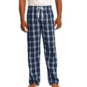 DT1800 District - Young Mens Flannel Plaid Pant