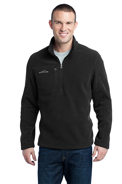 EB202 Eddie Bauer Quarter Zip Fleece Pullover