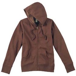 EC4501 eConscious Ladies' Organic/Recycled Full-Zip Hood