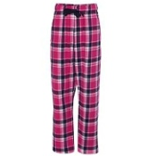 F20Y Boxercraft Youth Team Pride Fashion Flannel Pants with Pockets