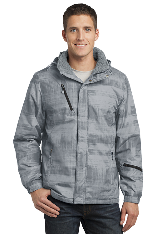 J320 Port Authority® Brushstroke Print Insulated Jacket