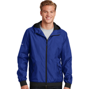 JST53 Sport-Tek® Embossed Hooded Wind Jacket