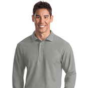 K500LSX Port Authority Long Sleeve Silk Touch 3X-6X