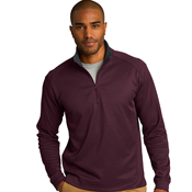 K805 Port Authority® Heavyweight Vertical Texture 1/4-Zip Pullover